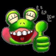 ha!! ha!! ha!! Tamakaeru