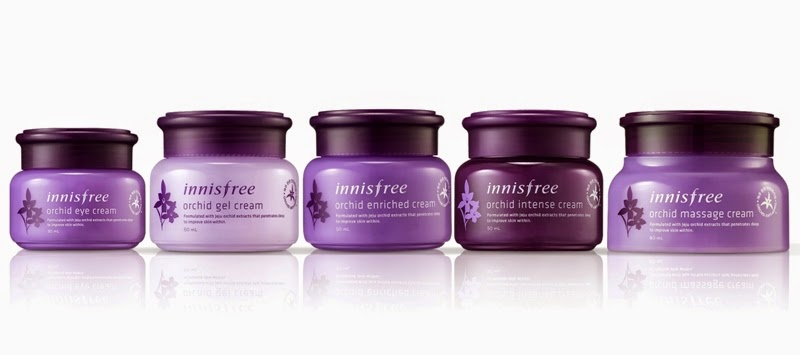 Innisfree Orchid Line Review, Innisfree malaysia, korean skincare, innisfree orchid, Orchid Enriched Cream 15th Anniversary Special Set, Orchid Enriched Cream, Orchid Gel Cream, Orchid Intense Cream, Orchid Eye Cream, Orchid Massage Cream