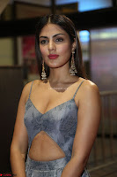 Rhea Chakraborty in a Sleeveless Deep neck Choli Dress Stunning Beauty at 64th Jio Filmfare Awards South ~  Exclusive 121.JPG