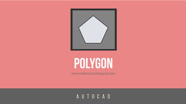 AutoCAD drawing tools: Polygon