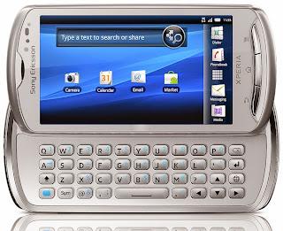 Harga Sony Ericsson Xperia Pro Terbaru