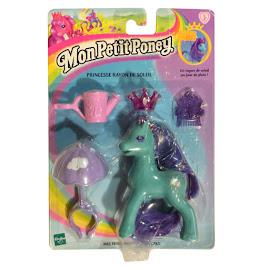 MLP Princess Silver Rain Prince and Princess Ponies II G2 Pony