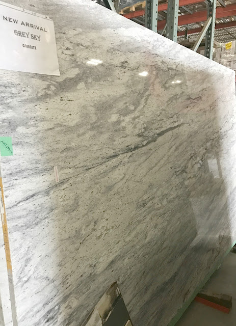 gray sky granite