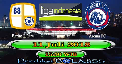Prediksi Bola855 Barito Putera vs Arema FC 11 Juli 2018