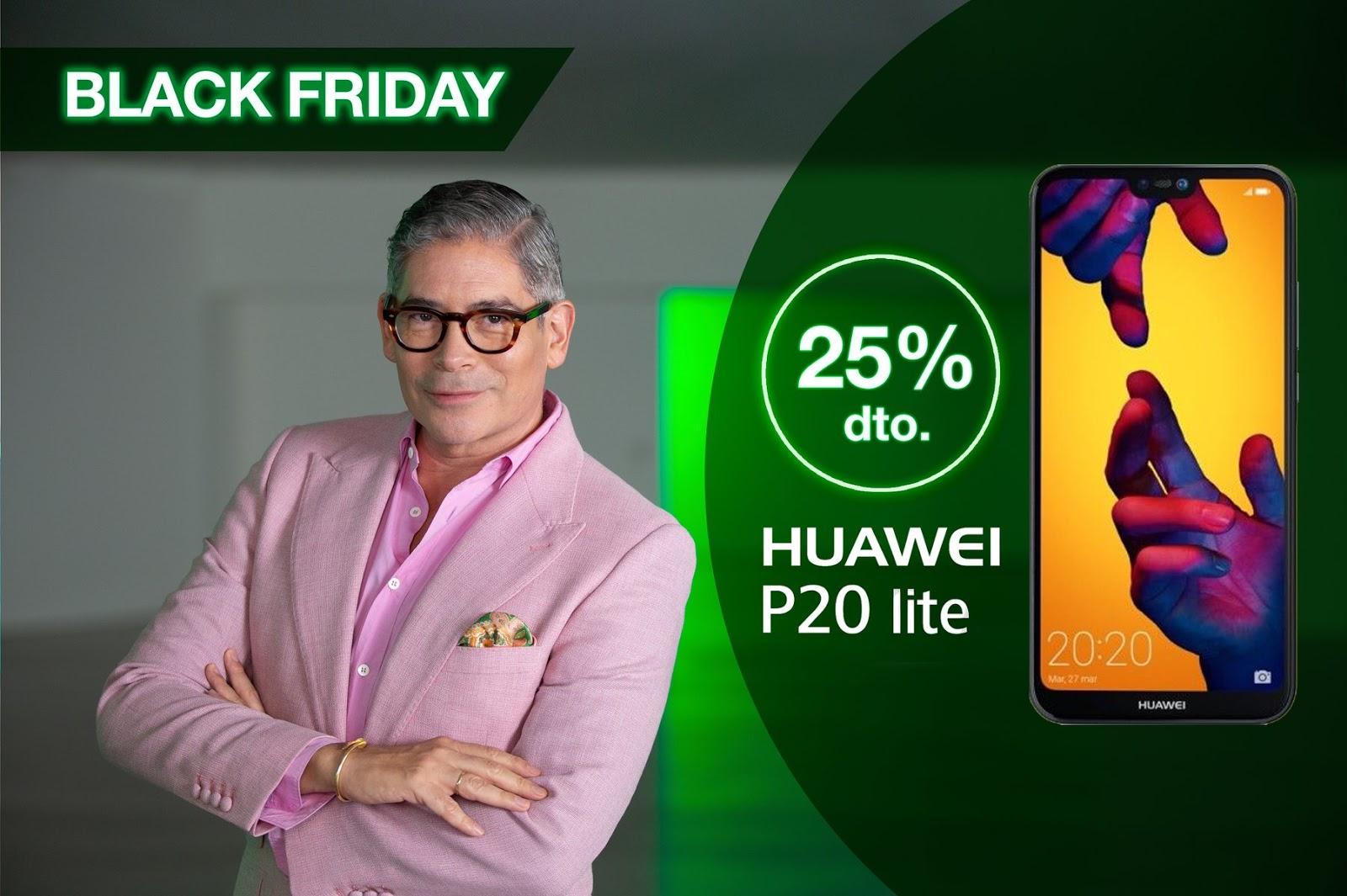 Black Friday Amena Huawei 25% descuento