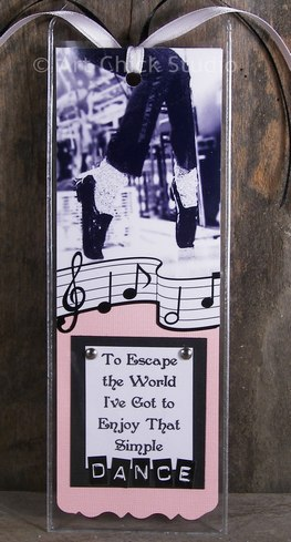 Simple Dance MJ Bookmark Paper Arts