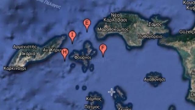 """""""Γκριζάρει"""" περιοχές εντός των ελληνικών χωρικών υδάτων η Τουρκία μετά την επίσκεψη Γιλντιρίμ"""
