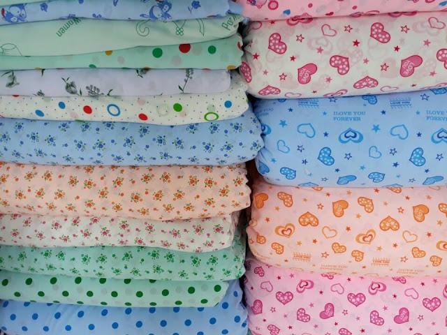 hình ảnh vải kate cotton tại long khánh