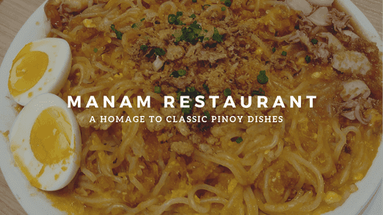 Manam restaurant review in SM Mall of Asia