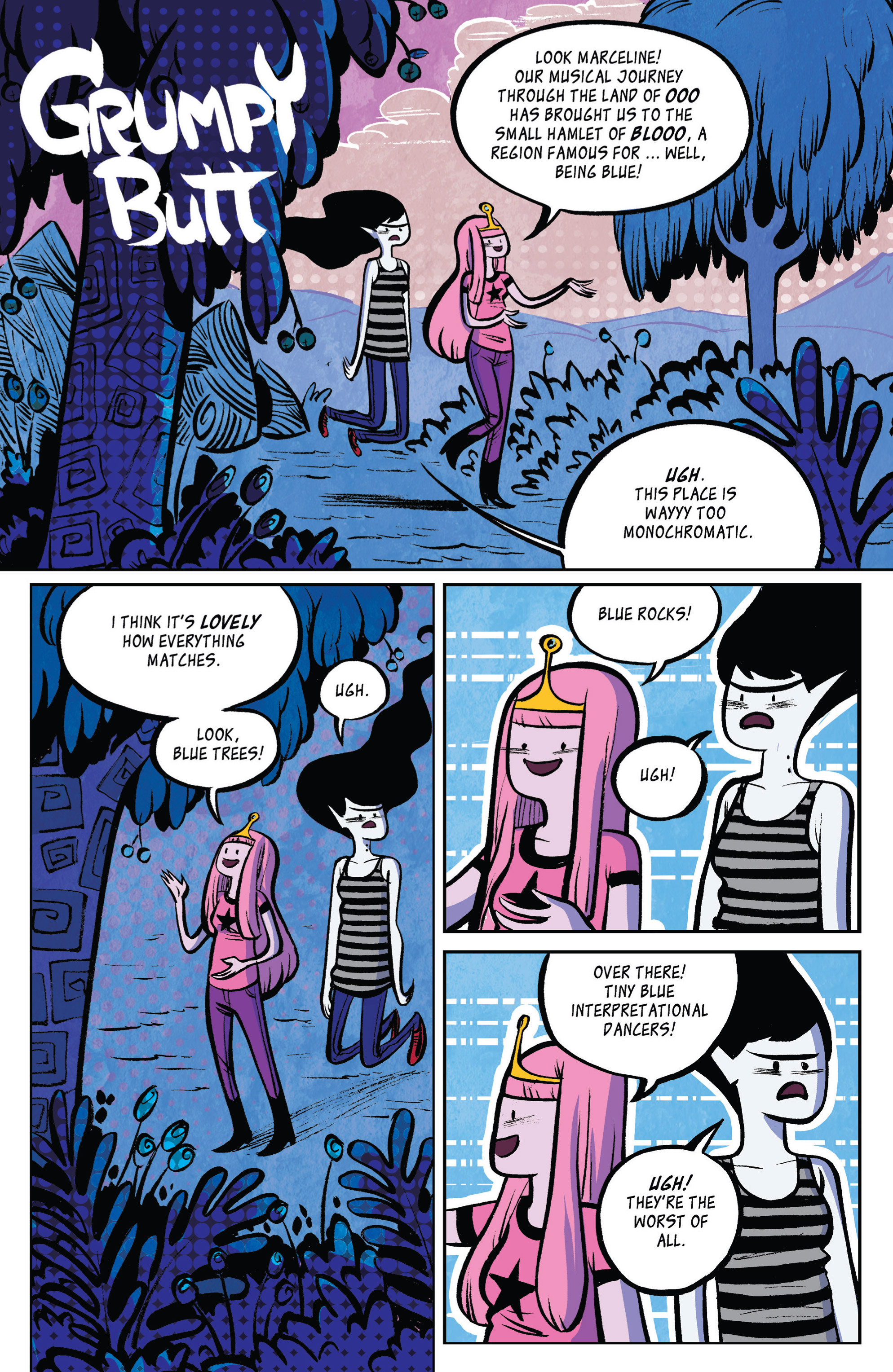 Read online Adventure Time: Marceline and the Scream Queens comic -  Issue #2 - 21