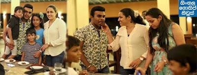 Roshan Fernando's wife (Thilini) Birthday celebration