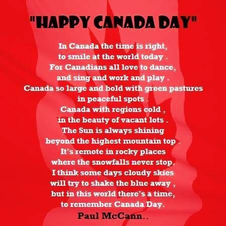 Canada day 2017 poems