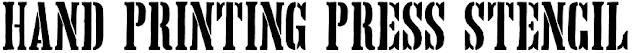http://www.dafont.com/es/hand-printing-press-stencil.font