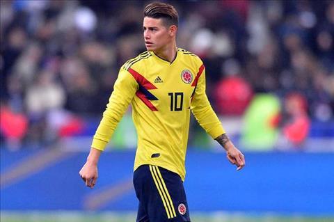 James Rodriguez vẫn là niềm hy vọng lớn của Colombia