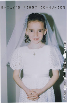 Pope Posts continued: The First Communion Dress