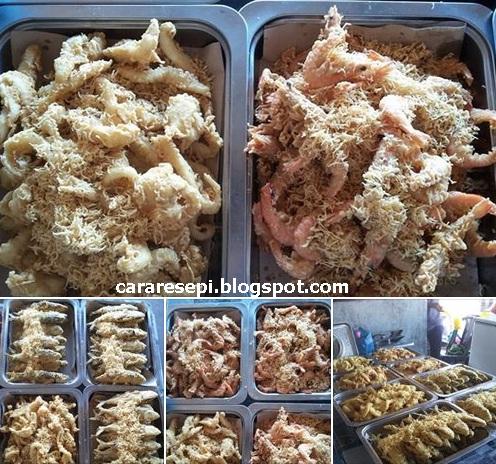 Resepi Sotong Celup Tepung Terengganu Original Asli Cara Buat Rangup Crispy Viral