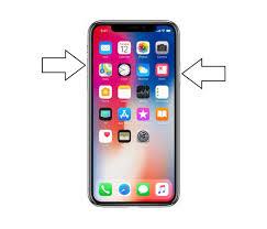 Hacer captura de pantalla con el iPhone X