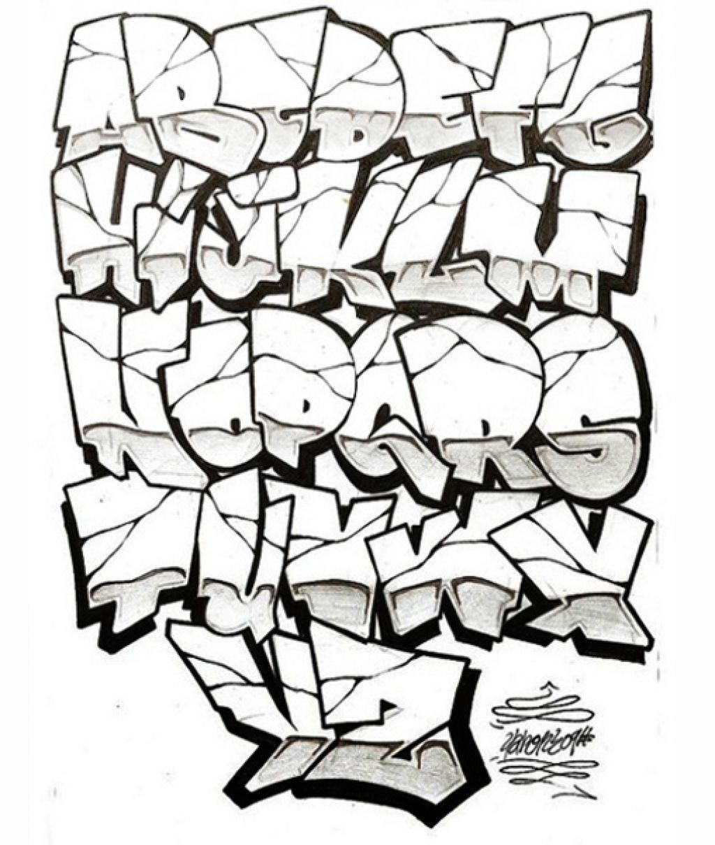 Cool Graffiti Styles and Ideas