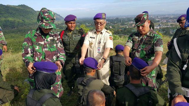 20 Resimen Mahasiswa Mahadasa Aceh Melakukan Pembaretan