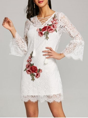 https://www.rosegal.com/lace-dresses/bell-sleeve-fitted-lace-dress-with-slip-dress-2002193.html?lkid=11414763