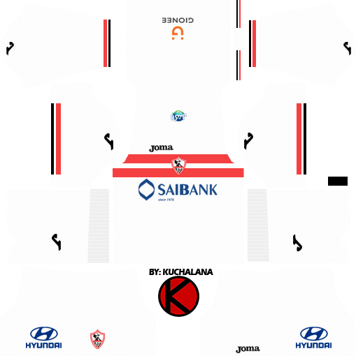Al-Zamalek SC Kits 2017/18 - Dream League Soccer