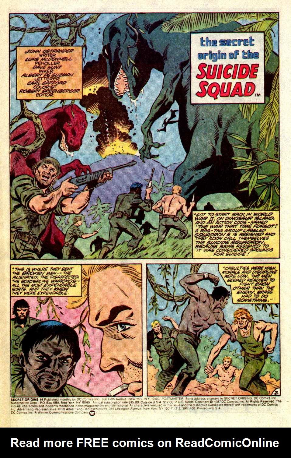 Read online Secret Origins (1986) comic -  Issue #14 - 3