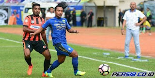 Persib Bandung vs Perseru Serui 0-2. Rekor kandang ternoda. Perseru Bertahan di Liga 1.