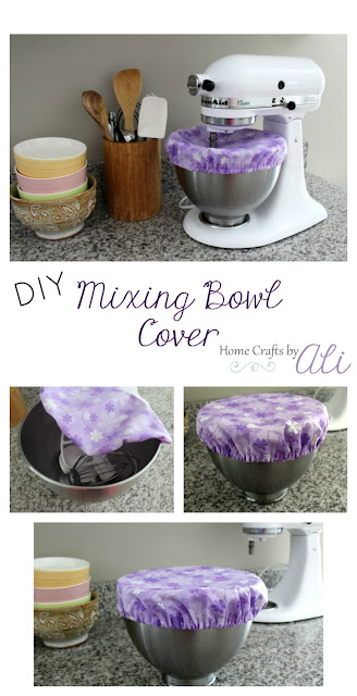 tutorial sew diy mixing bowl cover fabric