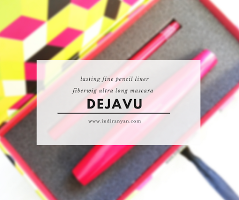 [REVIEW] Dejavu - Lasting Fine Pencil Liner & Fiberwig Mascara*