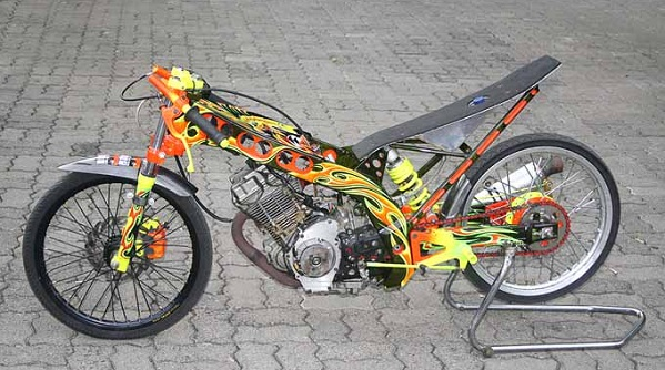 Modifikasi Suzuki FXR150 2003
