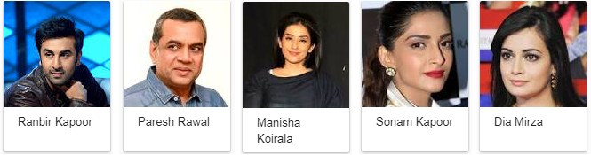 Sanju 2018 Movie Star Cast