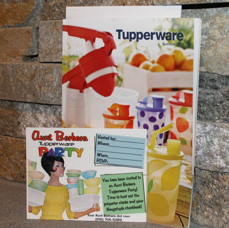 Aunt Barbara Tupperware Party