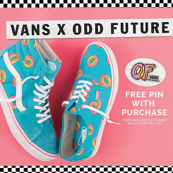 02887d816fbb Vans x Odd Future Collection - SOUND IN THE SIGNALS