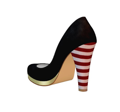 customized shoes of prey heels