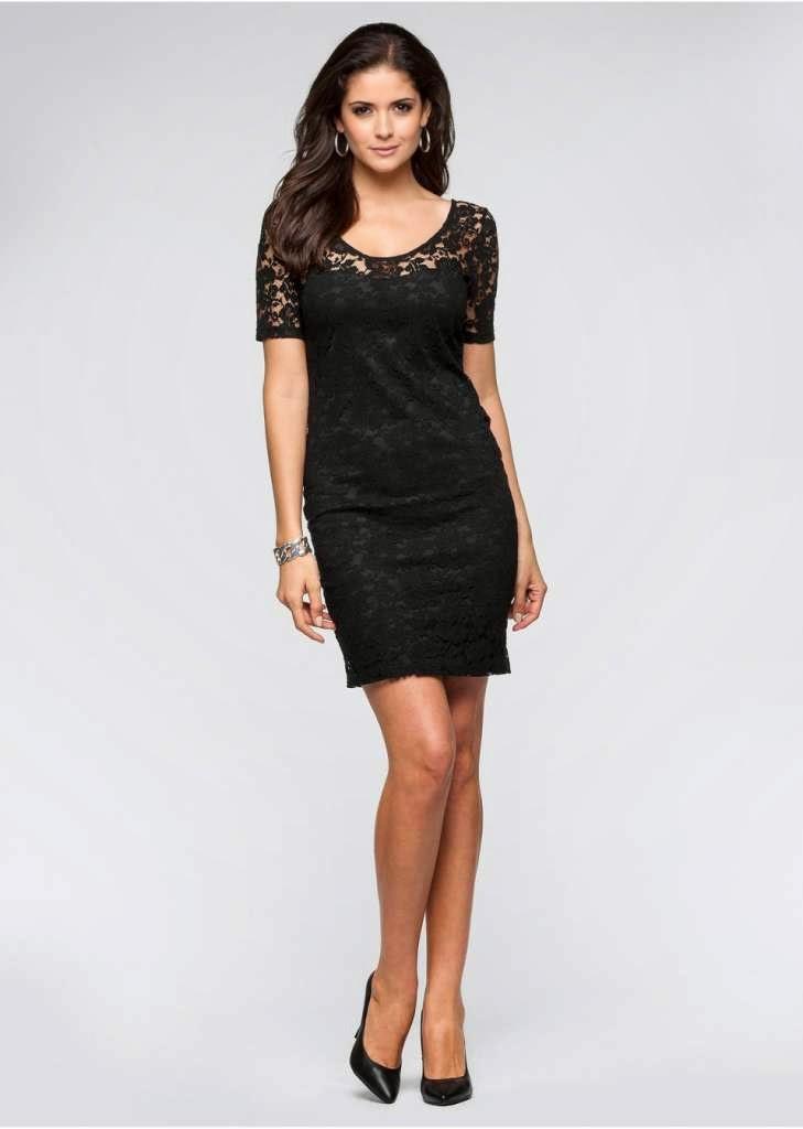 schwarzes kleid als gast zur hochzeit elegante kleider dieses jahr. Black Bedroom Furniture Sets. Home Design Ideas