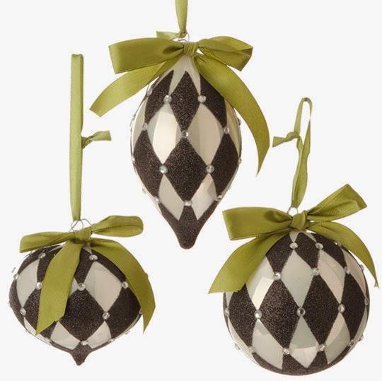 Christmas Moose Ornaments Raz