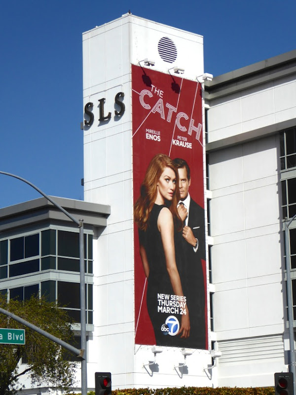 The Catch series launch billboard