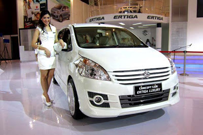 ertiga luxury matic