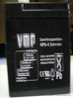 Aki VMP NP6-4.5 SLA untuk Motor dan Mobil Mainan Aki