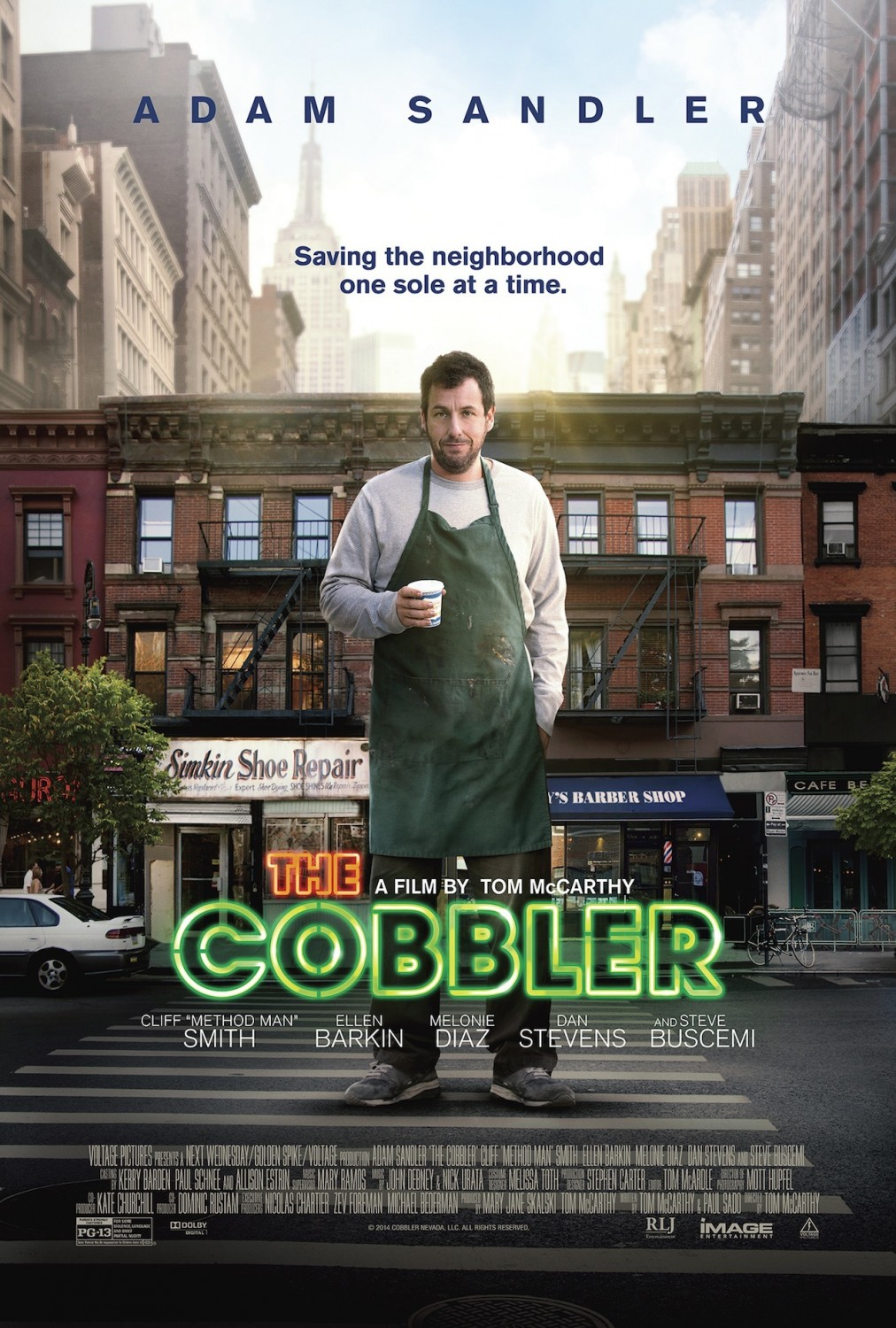 Nonton Film The Cobbler (2014)