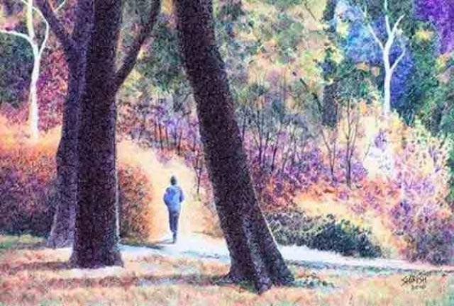 Картины шариковой ручкой. Shirish Deshpande