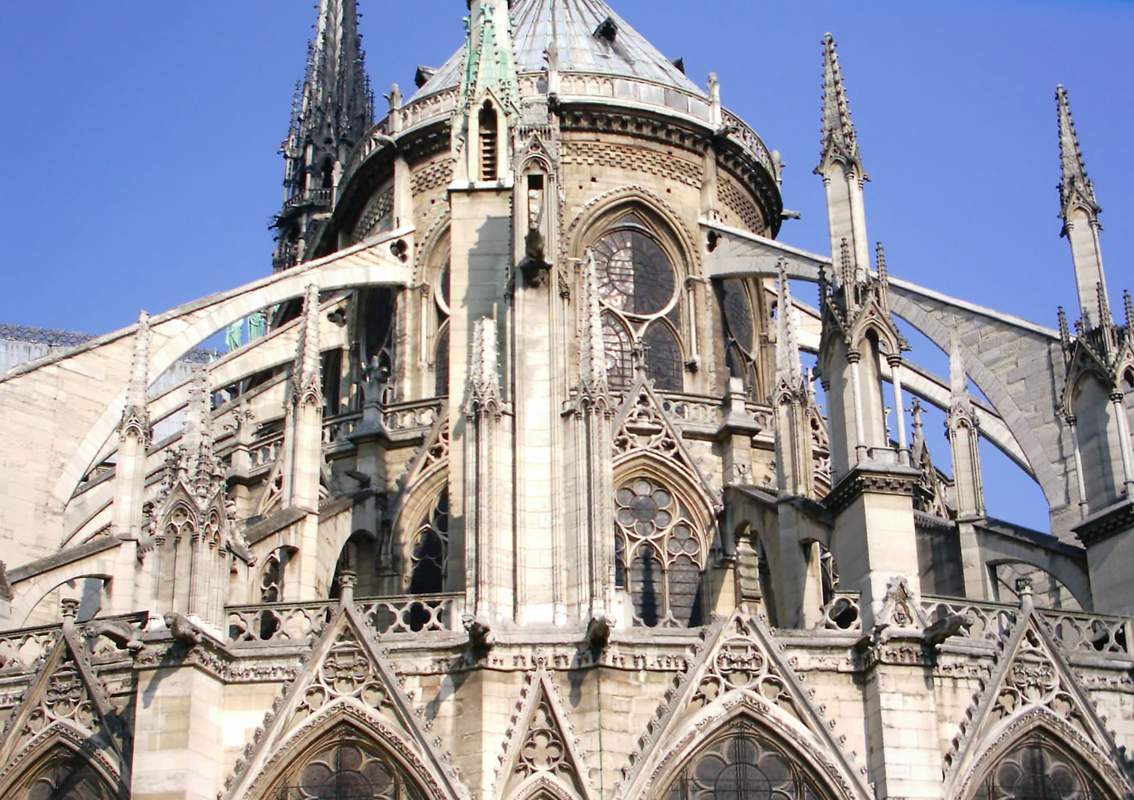 The Flying Buttresses Were Not In Original Plans For Building And Included Until Construction Had Begun They Came As A Result Of