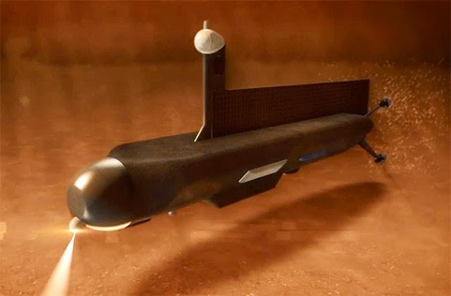 submarino nos mares de titã