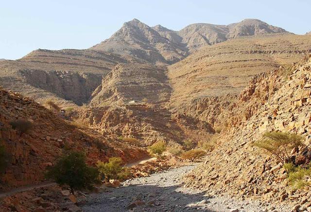 estrada de Musandam - Omã