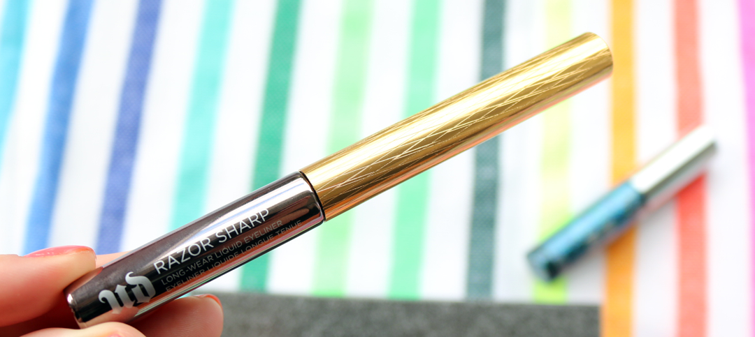 Urban Decay Razor Sharp Long-Wear Liquid Eyeliner in Goldrush