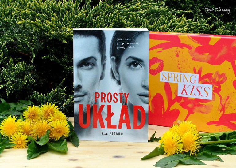 """Spring Kiss by ShinyBox - książka """"Prosty układ"""" K.A. Figaro"""