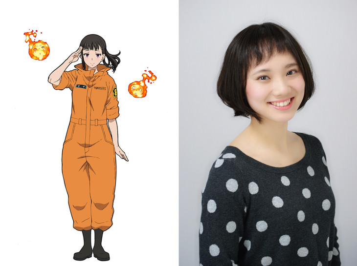 Fire Force (Enen no Shouboutai) anime - Saeko Kamijou - Maki Oze