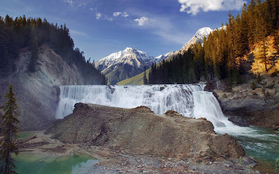 yoho national park widescreen hd wallpaper