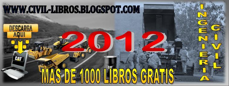 DESCARGAR LIBROS INGENIERIA CIVIL 2012 NUEVOS APORTES Y