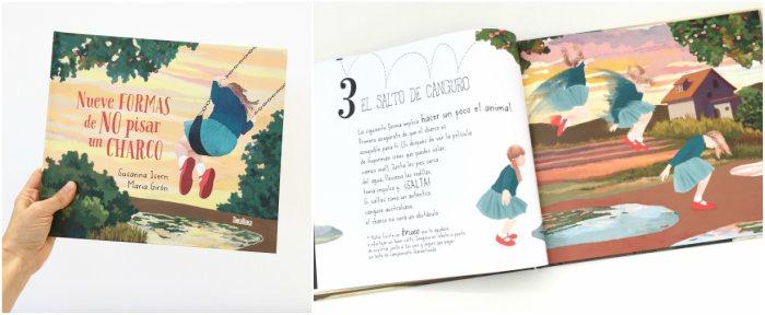 mejores cuentos infantiles 5, 6, 7, 8 años, nueve formas de no pisar un charco susanna isern